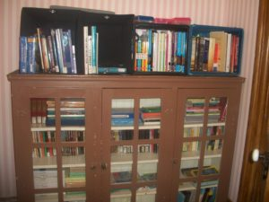 Homeschool Book Storage - Old Farmhouse