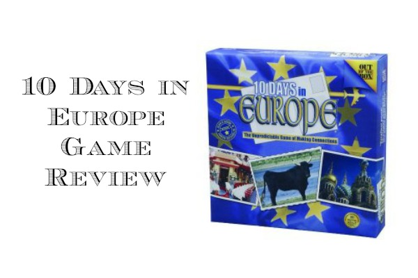 10 Days in Europe Game Review
