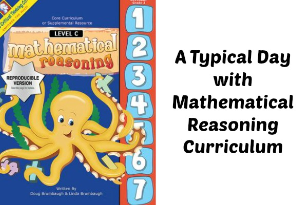 a typical day with mathematical reasoning curriculum eclectic homeschooling