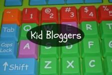 Kid Bloggers