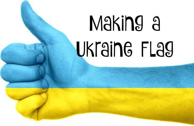 Making a Ukraine Flag