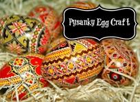Pysanky Egg Craft