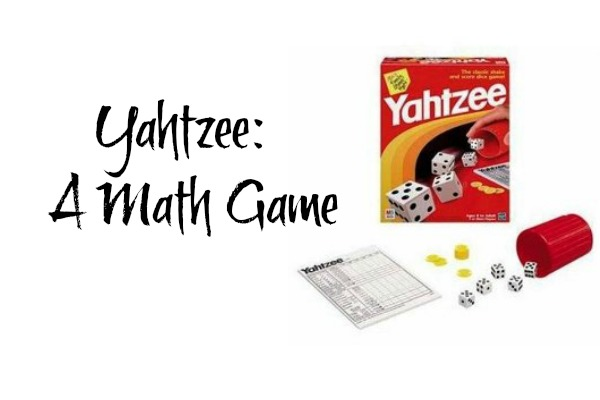 Yahtzee A Math Game