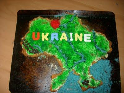 Ukraine Cookie Cake