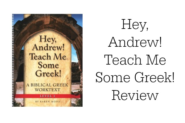 Hey Andrew Teach Me Some Greek