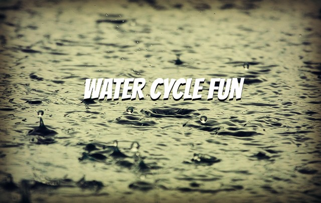 Water Cycle Fun