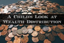 A Child's Look at Wealth Distribution