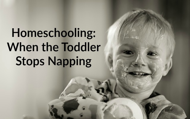 Homeschooling When the Toddler Stops Napping