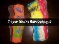 Paper Mache Sarcophagus