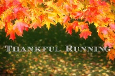 Thankful Running