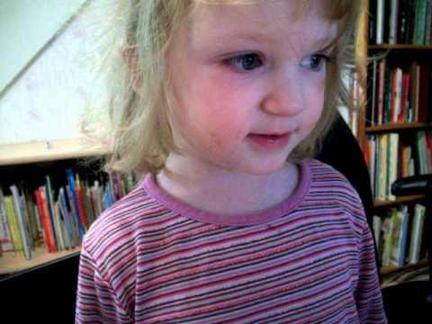3 year old singing Arabic alphabet