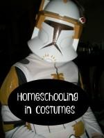 Homeschooling in Costumes
