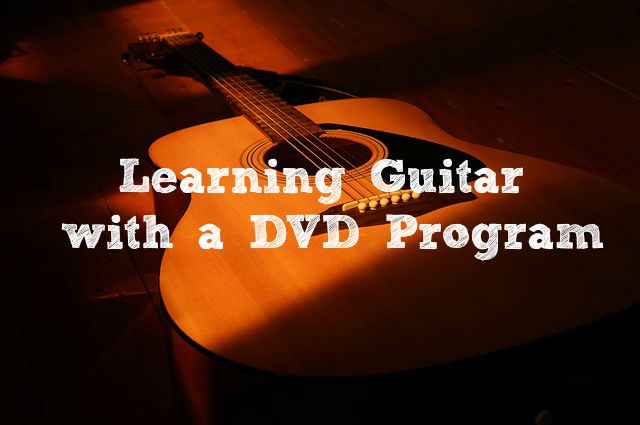 Learning Guitar with a DVD Program