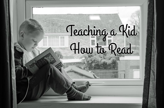 Teaching a Kid How to Read