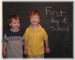 Our first year homeschooling