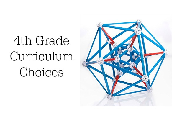 4th Grade Curriculum Choices