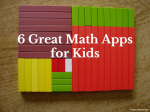 6 Great Math Apps for Kids