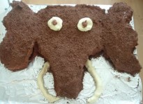 woolly mammmoth cake