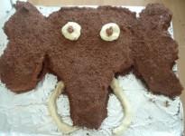 woolly mammmoth cake