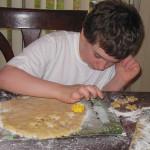 Islam Unit Study.  Making Eid cookies