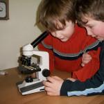 Microscope for human body study.