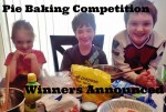 Pie Baking Competition Winners