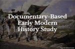 Learning about Early Modern World History with Documentaries