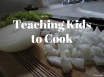 Teaching Kids to Cook