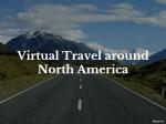 Virtual Travel around North America