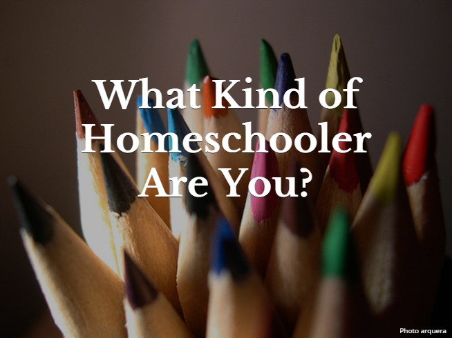 What Kind of Homeschooler Are You? Quiz