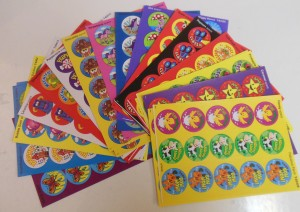 Round Sticky Stickers Super Saver Pack