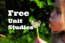 Free Unit Studies