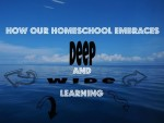 5 Ways Our Homeschool Embraces Deep and Wide Learning