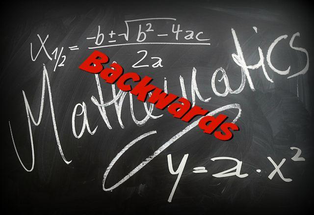 Teaching Math Backwards
