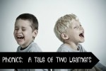 Phonics:  A Tale of Two Learners