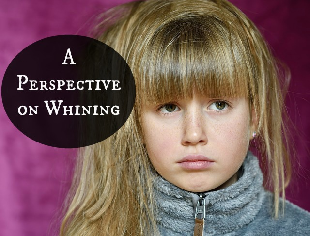 A Perspective on Whining