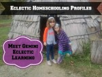 Eclectic Homeschooling Profiles:  Meet Gemini Eclectic Learning