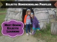 Eclectic Homeschooling Profiles Meet Gemini Eclectic Learning