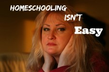 Homeschooling Isnt Easy
