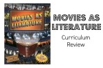Movies as Literature Curriculum Review