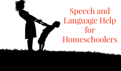 Speech and Language Help for Homeschoolers
