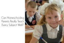 Can Homeschooling Parents Really Teach Every Subject Well