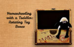 Homeschooling with a Toddler – Rotating Toy Boxes