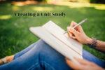 Creating a Unit Study