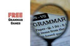 Free Grammar Games